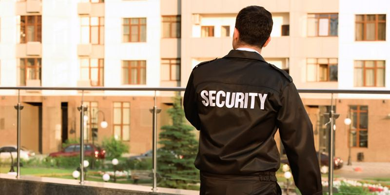Image of security guard, Security Guard Company in San Francisco, American Assured Security, Inc