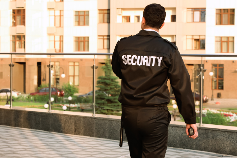 Image of the security gaurd, Unarmed Security guard, American Assured Security Inc.